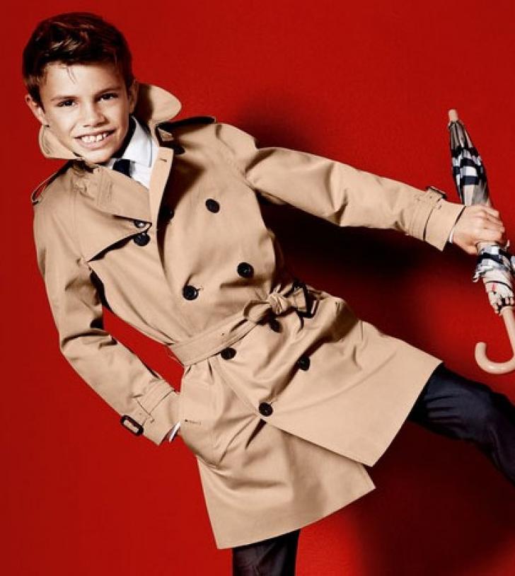 Romeo Beckham, prezentare de modă la Londra