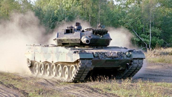 Un tanc german de tip Leopard 2
