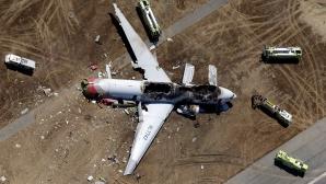 Un avion a aterizat forţat la San Francisco