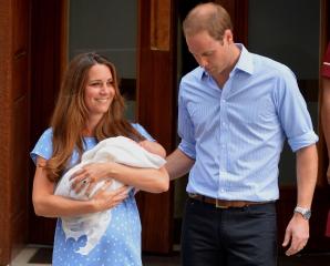 Kate, William şi bebeluşul regal
