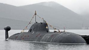 Un submarin rusesc din clasa Akula