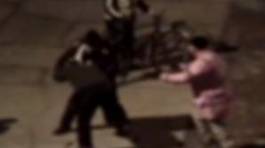 Bătaie între un biciclist și un pieton la Buzău