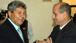 Mircea Lucescu şi George Copos