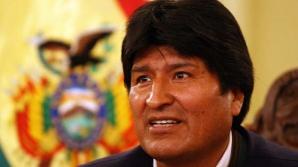 "Preşedinte ""pe viaţă"": Evo Morales"