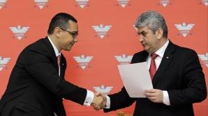 Victor Ponta şi Gabriel Oprea spun că înfiinţarea USD nu încalcă protocolul USL