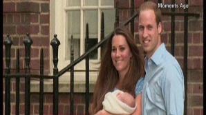 PRIMA APARIŢIE PUBLICĂ cu fiul lor. Prinţul William, Kate Middleton şi noul lor născut