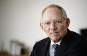 Wolfgang Schaeuble, ministrul german de finanţe