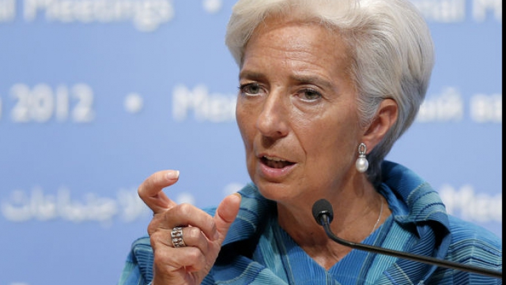 <p>Christine Lagarde, şefa FMI</p>