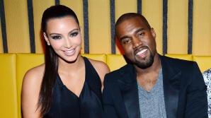 <p>Kim Kardashian și Kanye West</p>