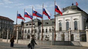 Băsescu, vizită în Slovacia: Preşedintela a ajuns la Bratislava