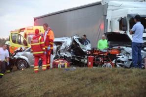 Accident grav în Ungaria