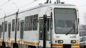 Două tramvaie s-au ciocnit