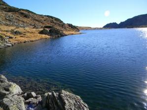 Lacul Bucura, cel mai mare lac glaciar