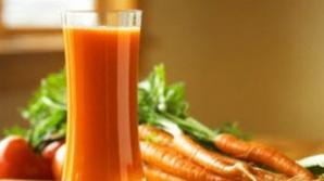 5 retete de suc de legume pentru vara