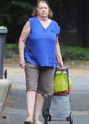 Christine Keeler, la vârsta de 71 de ani
