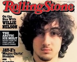 Fotografia cu Johar Ţarnaev de pe coperta revistei Rolling Stone a dublat vânzările publicaţiei