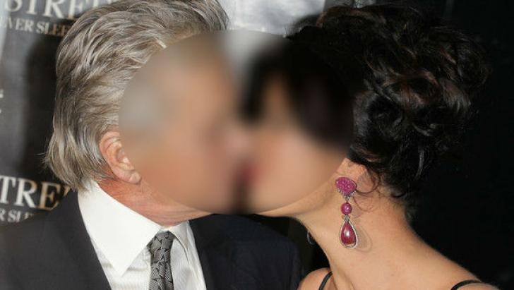 Catherine Zeta Jones și Michael Douglas