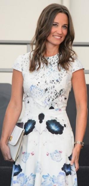 Pippa Middleton adoră rochiile din dantelă