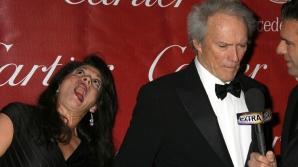Clint Eastwood şi fosta sa soţie, Dina