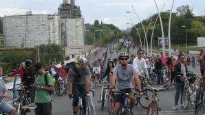 Marşul bicicliştilor din Bucureşti, septembrie 2013