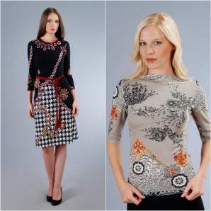 Pentru a fi în vogă îți propunem o rochie de toamna Yokko sau un tricou cu imprimeuri.