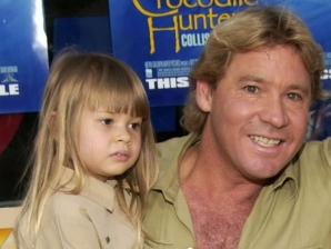 Bindi, fiica lui Steve Irwin, a crescut
