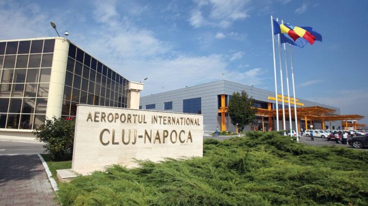 <p>Aeroportul Internaţional din Cluj-Napoca</p>