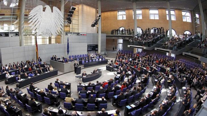 Bundestag (Camera inferioară a parlamentului german)