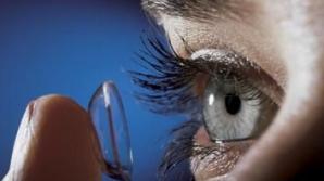 Lentilele de contact purtate necorespunzător pot duce la pierderea vederii