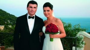 Simona Pătruleasa, la nunta cu Sabin Ivanof