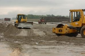 Autostrada a fost abandonată după arestarea lui Nelu Iordache