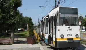 Incident într-un tranvai din Bucureşti