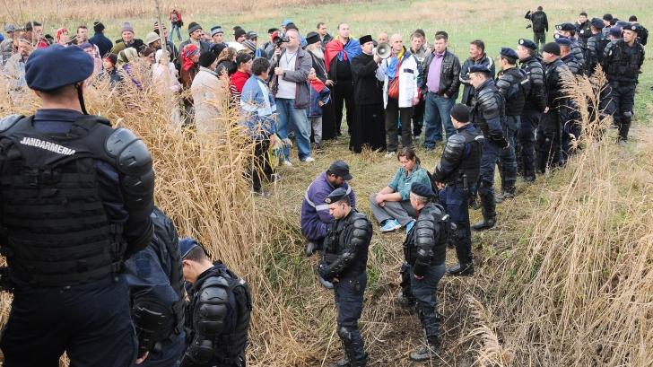 PROTESTE GAZE DE ŞIST Radu Stroe: La Vaslui, buba cea mare a fost lipsa de comunicare / Foto: MEDIAFAX
