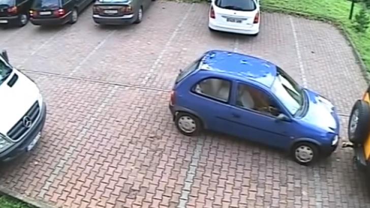 Cea mai proastă ieșire dintr-o parcare din istorie