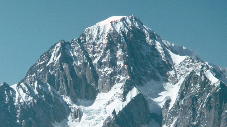 Alpinist român mort în masivul Mont Blanc
