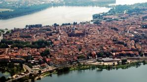 O parte dintre proprietăţile femeii sunt în Mantua, Lombardia