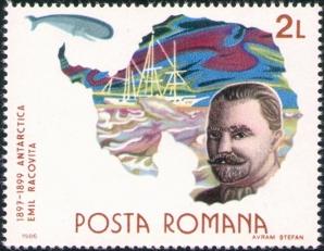 Emil Racoviţă, unul dintre cei mai mari savanţi români, pe o marcă poştală