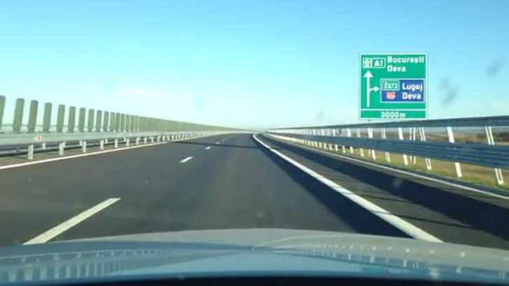 <p>Primul tronson al Autostrăzii Lugoj-Deva, de 27 kilometri, inaugurat cu 9 luni întârziere</p>