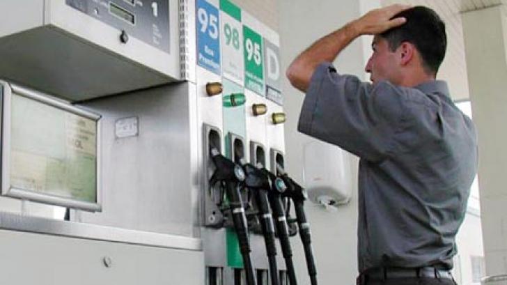 Preţul la benzină, peste cel al motorinei