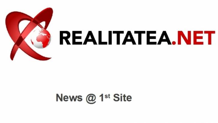 REALITATEA.NET este site-ul de ştiri NUMĂRUL 1 în România. RECORD de afişări în luna OCTOMBRIE
