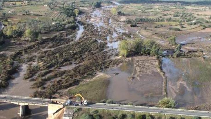 Italia este puternic afectată de inundaţii
