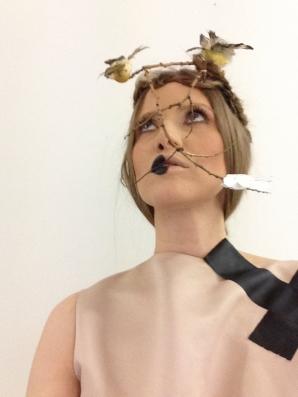 Iulia Albu, creaţie extravagantă