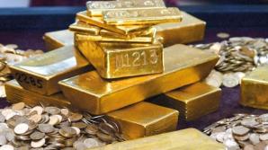 Preţul aurului, scădere abruptă