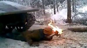 Scene horror într-o pădure din Rusia