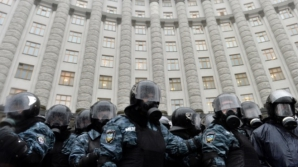 Forţe speciale, mobilizate la Kiev pentru consolidarea securităţii / Foto: voiceofrussia.com