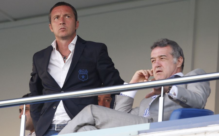 Mihai Stoica şi Gigi Becali