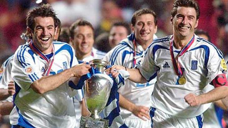 Grecia a fost campioana Europei în 2004