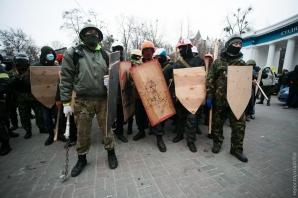 Revoltă în Ucraina