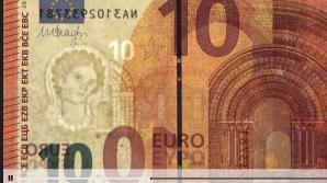 Cum arată noua bancnotă de 10 euro