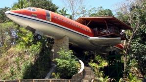 Avionul transformat în hotel în Costa Rica